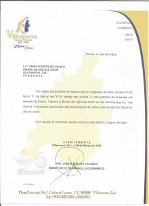CONVOCATORIAS DE LICITACION 001