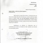 CAMBIO EN OFICIOS Y DOCUMENTOS OFICIALES 001