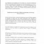 PROHIBICIONES A LOS SERVIDORES PUBLICOS DEL MUNICIPIO, EN PROCESO ELECTORAL 001